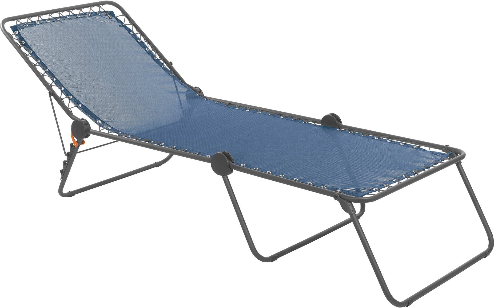 lafuma mobilier siesta l chaise longue avec cannage phifertex ocean