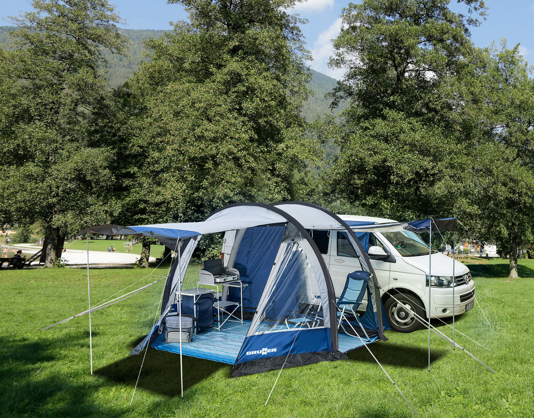 brunner entrada tente pour camping car