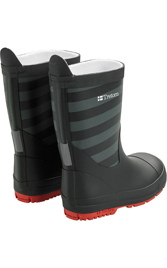 Tretorn Kids Gränna Rubber Boots Black Grey addnaturecom