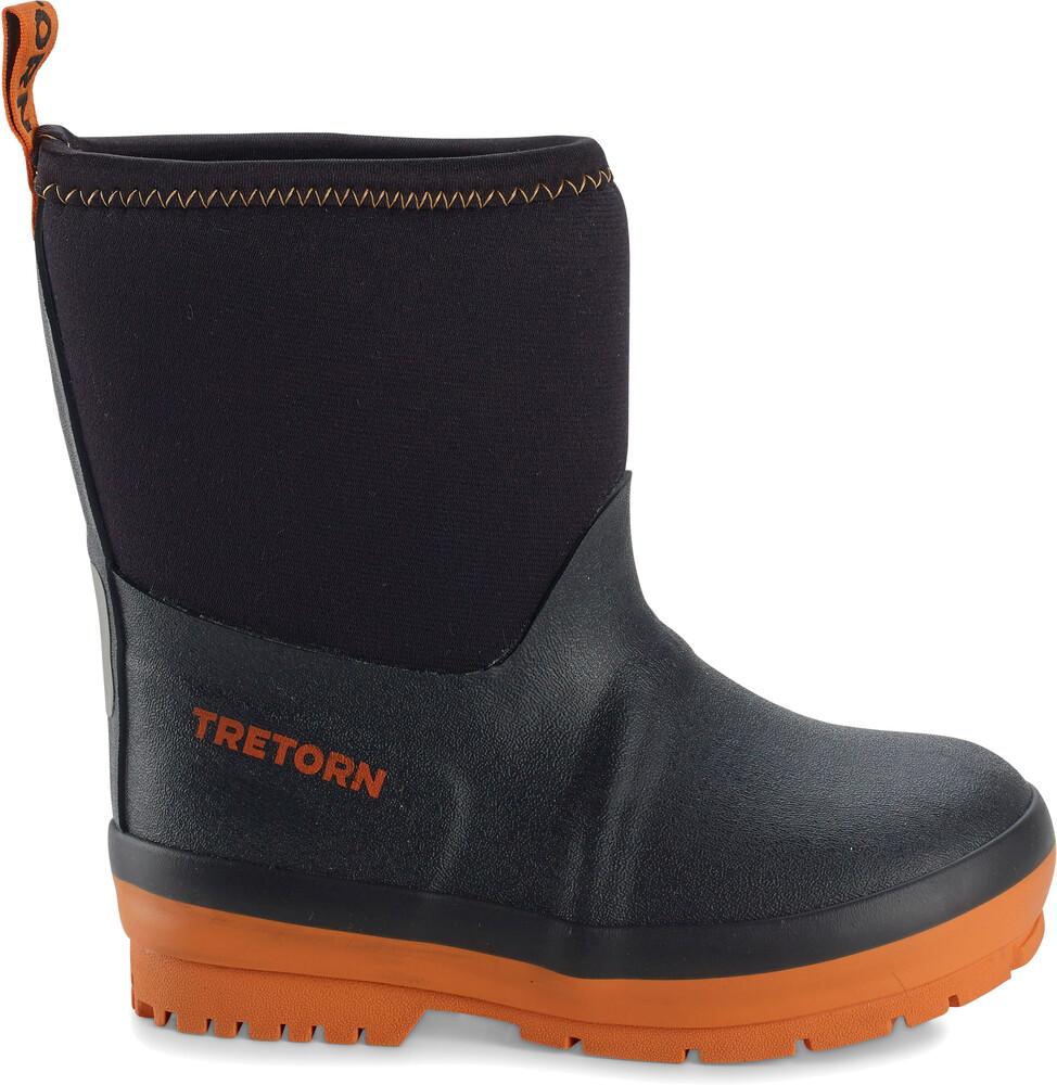 Tretorn Kids Kuling Neoprene Rubber Boots Black Gode