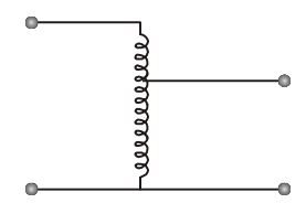 An auto-transformer having a transformation ratio of 0.8