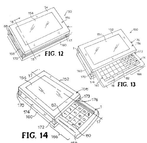 Sony Ericsson's patent application for dual-sliding QWERTY