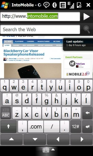 touchflo 3d ii 2 3 300x500 HTC Touch Diamond2 Review
