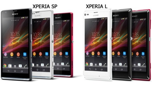 Sony Xperia SP and Xperia L officially official