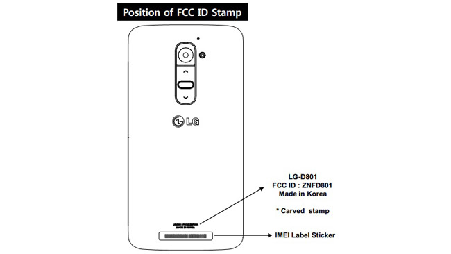 AT&T's LG G2 clears the FCC?