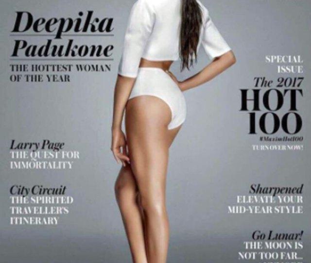 Sexy Deepika Padukone Sizzles The Maxim Cover
