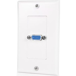 StarTech.com Single Outlet 15-Pin Female VGA Wall Plate
