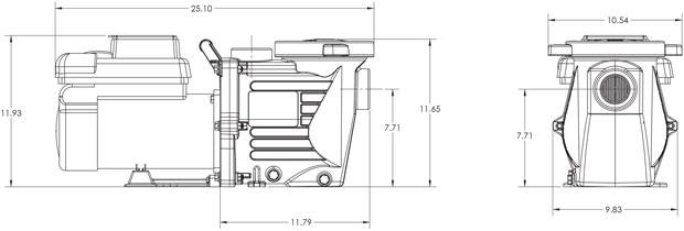 Waterway Power Defender 270 Variable Speed Pool Pump 2.7