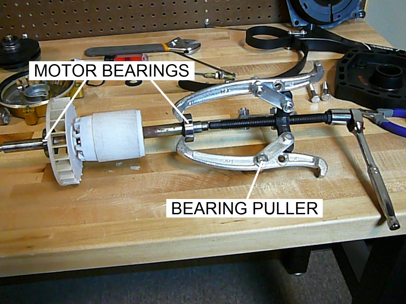 medium resolution of how to replace the bearings in a pool pump motor part i