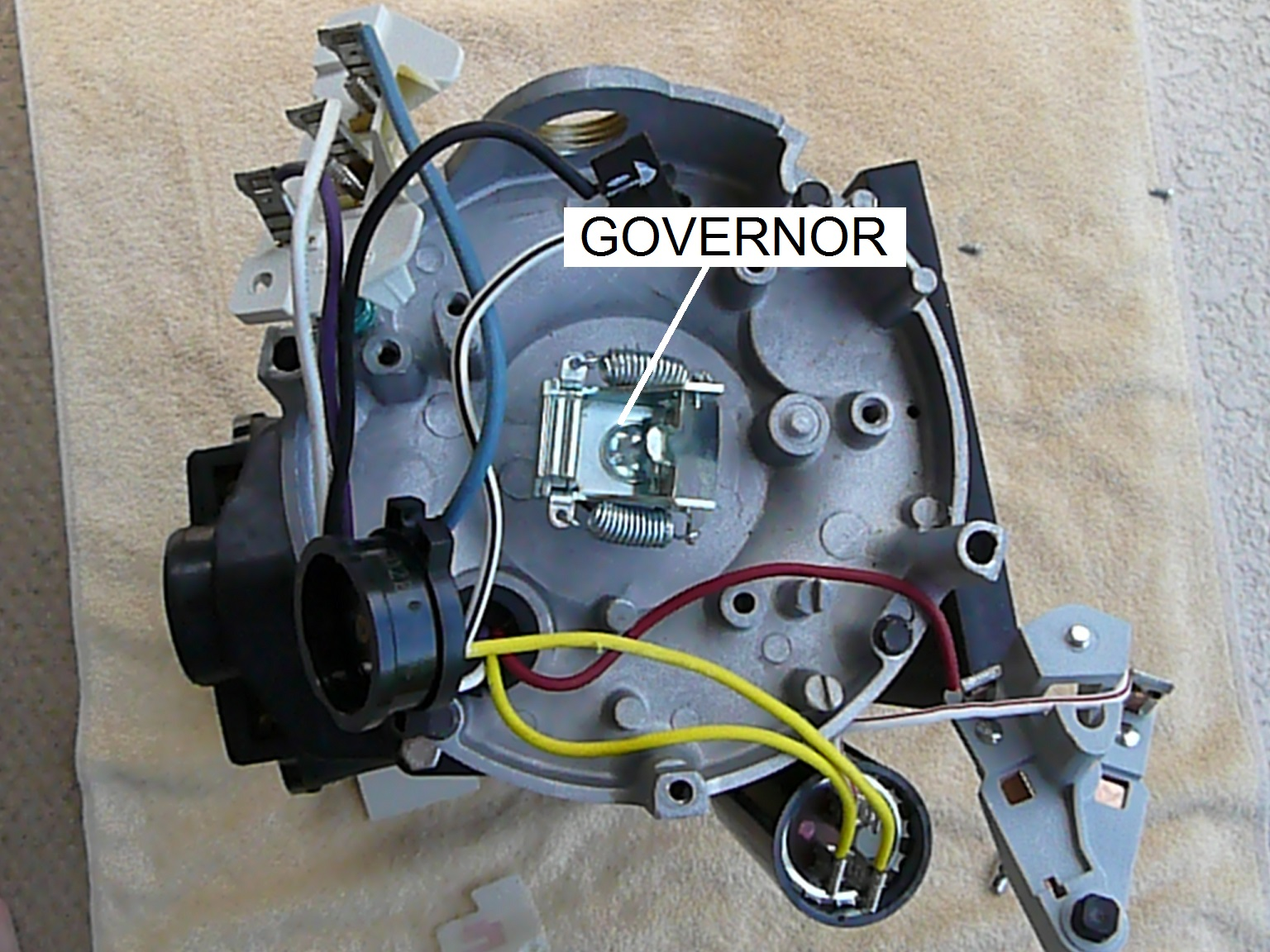 ao smith pool motors wiring diagram amphibian heart how to replace the governor on an motor