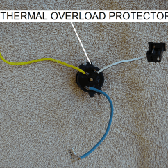 Century 2 Hp Electric Motor Wiring Diagram Dometic Digital Thermostat How To Replace The Thermal Overload Protector On An Ao Smith - Inyopools.com