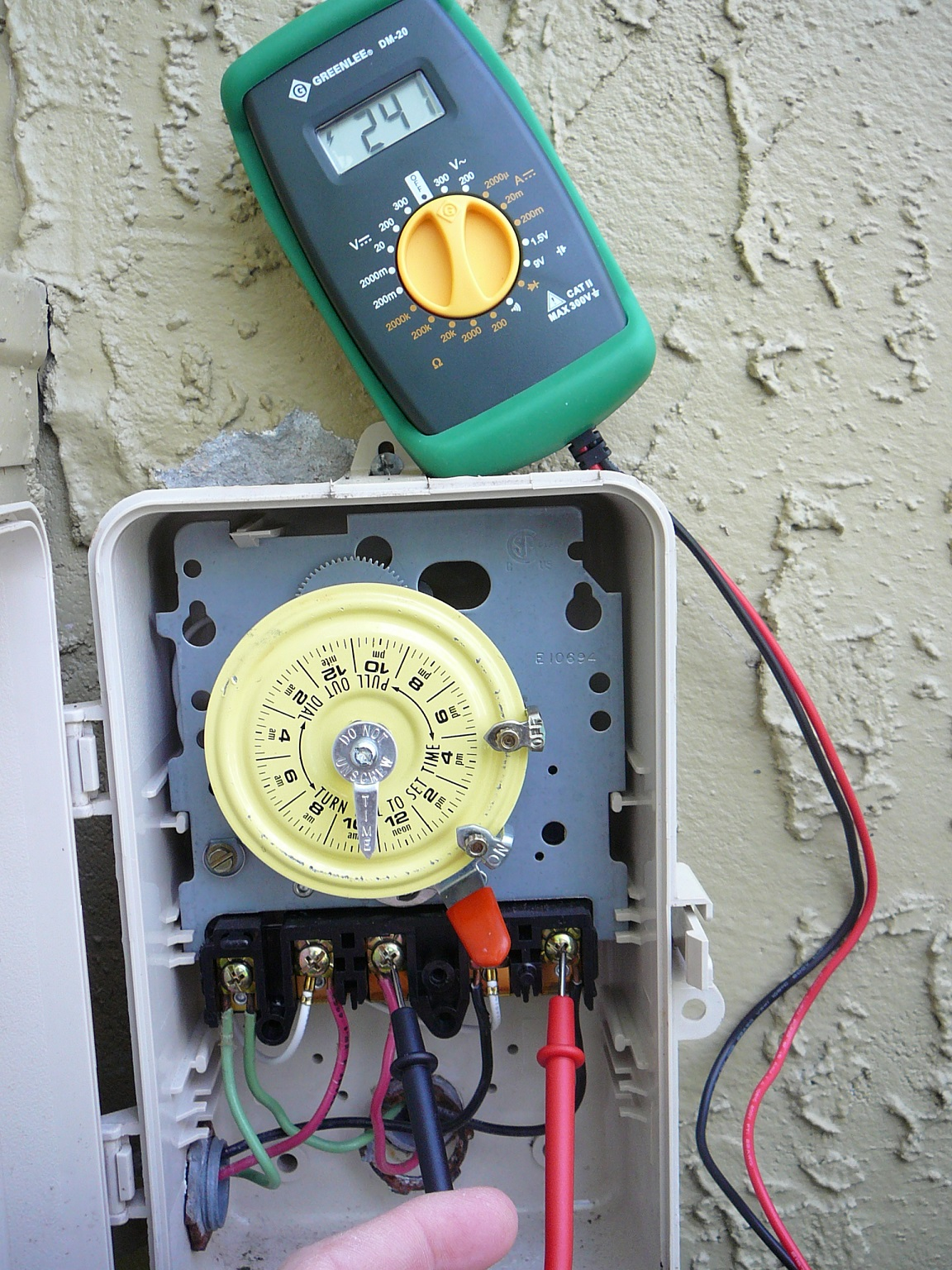 if you are installing a new pool pump or you have to troubleshoot a failing pump you will generally want to measure the motors supply voltage  [ 1152 x 1536 Pixel ]