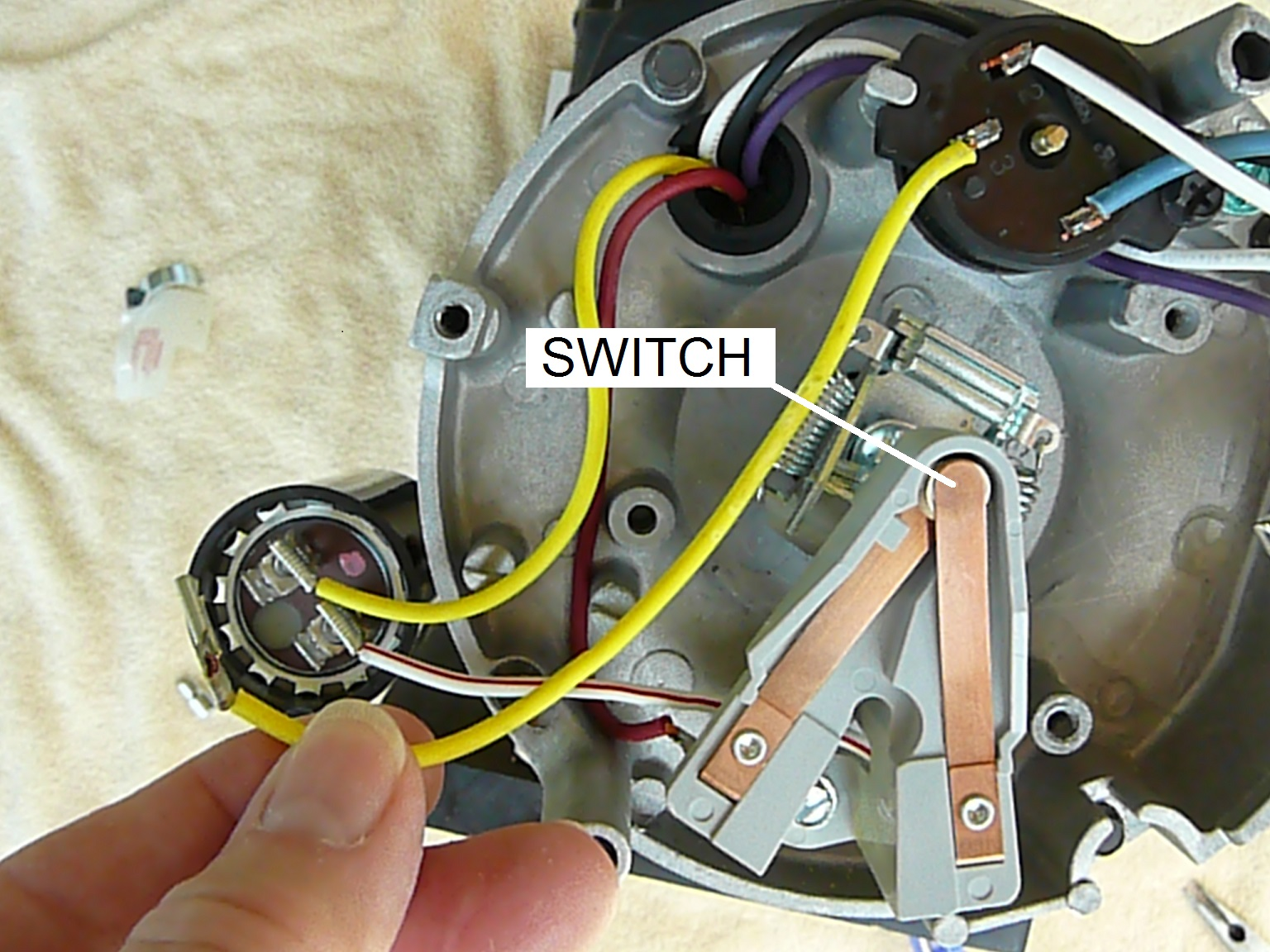 ao smith ust1102 wiring diagram starter solenoid for lawn mower how to replace motor parts overview inyopools com step 3