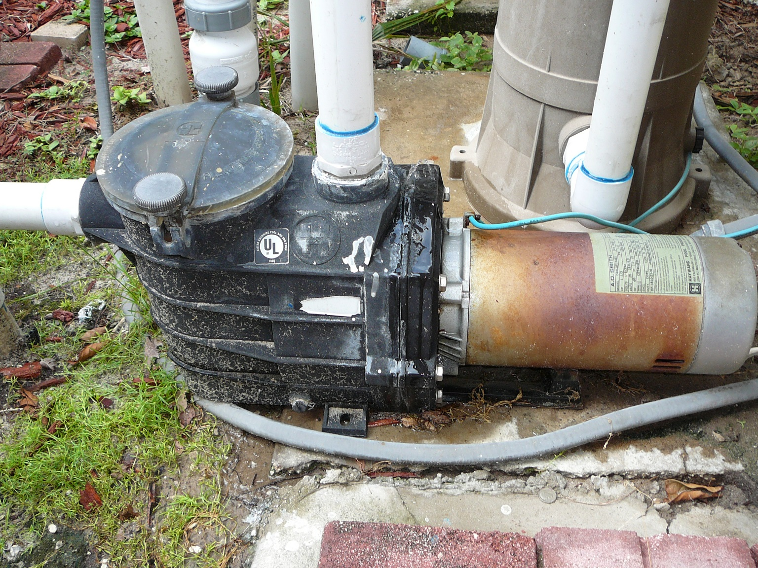 if you ve had your pool pump motor a while or just installed a new one and it decides not to start here is a list of steps to check to get it  [ 1536 x 1152 Pixel ]