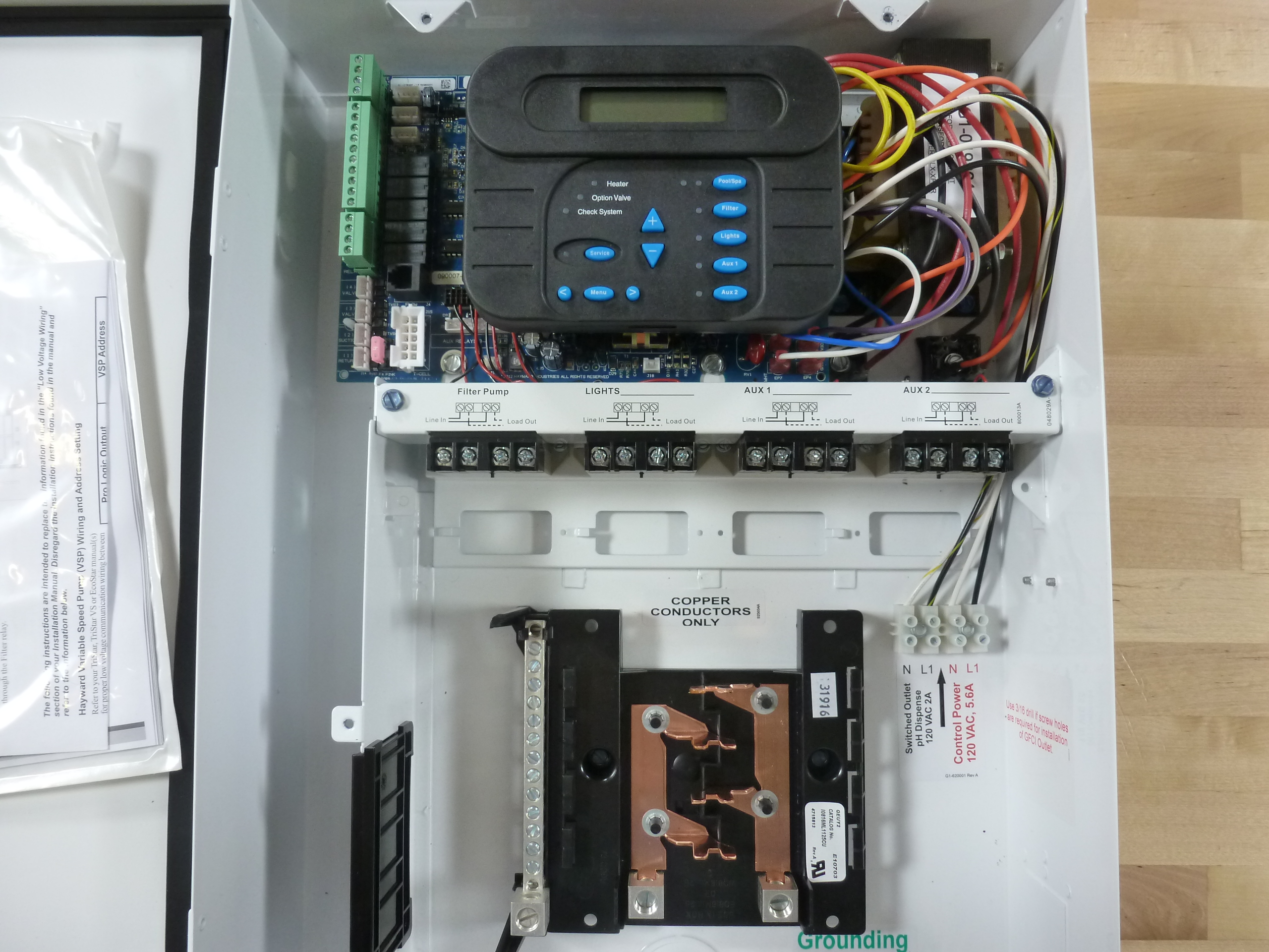 hight resolution of how to wire 115v equipment to the hayward pro logic inyopools comthis guide will explain a