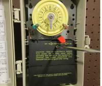 Timer Switch Wiring Diagram How To Replace An Intermatic T104 Clock Motor Inyopools Com