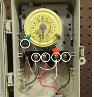 110 Volt Heater Switch Wiring Diagram How To Replace An Intermatic T104 Clock Motor Inyopools Com