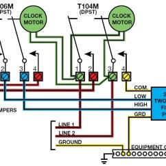 Pool Pump Setup Diagram Block Of Dot Matrix Printer How To Install A 2 Speed Motor And T106 Timer Inyopools Com Step 56