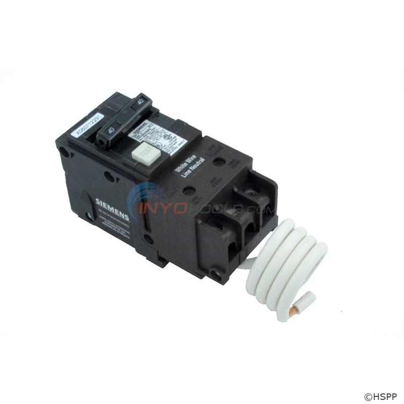 40amp Siemens Gfci Circuit Breaker Dp 120 240v Qf240a Inyopools