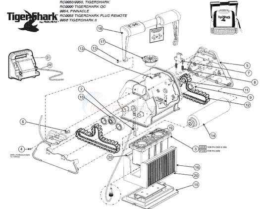 pool vacuum guide diagram