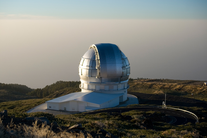 Gran Telescopio Canarias (GTC).