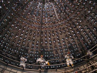 Photograph of the Borexino detector