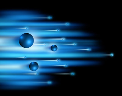 Illustration of quantum teleportation