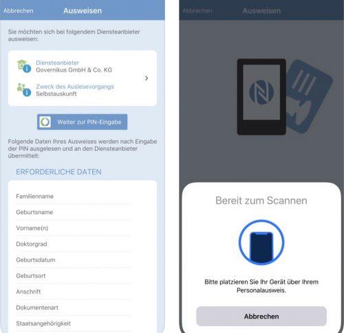 Ausweisapp 2 Screenshots Ios