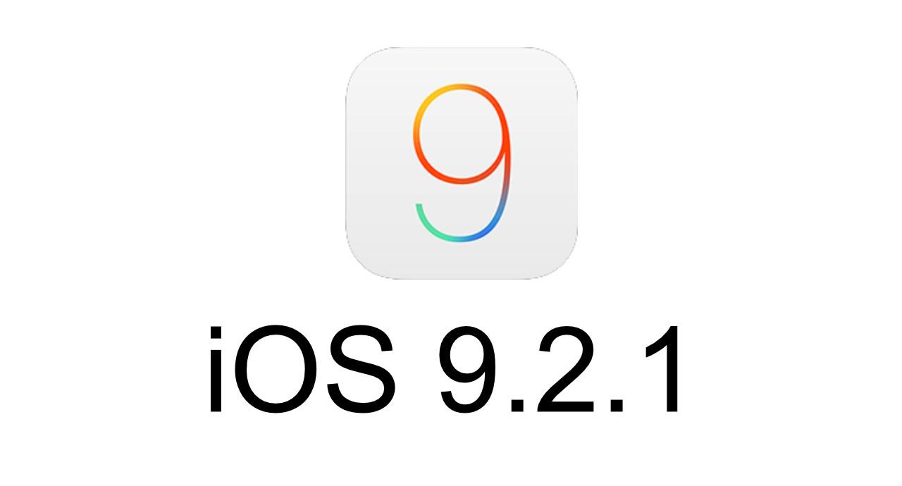 iOS 9.2.1 ปล่อยอัปเดตแล้วแก้ไขข้อบกพร่องในระบบ