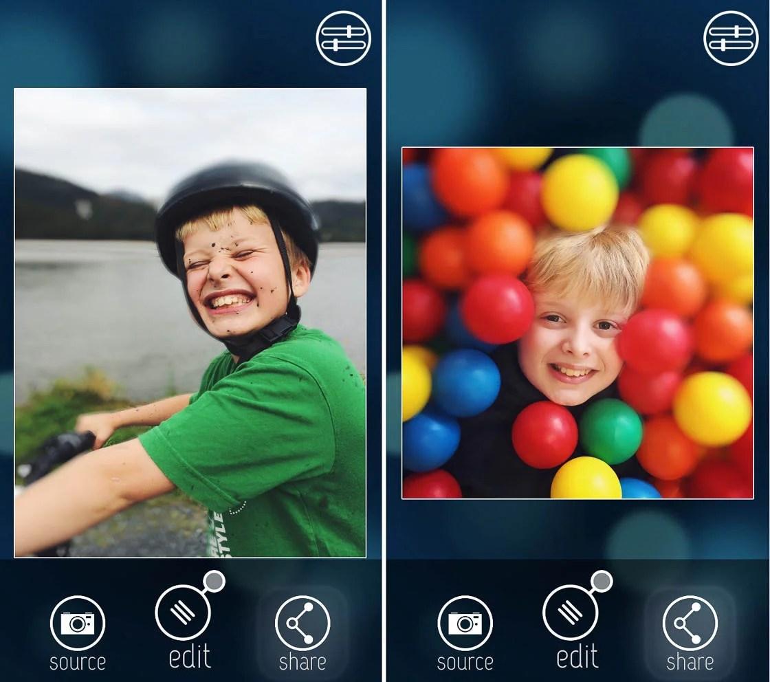 Aplikasi latar belakang blur 7