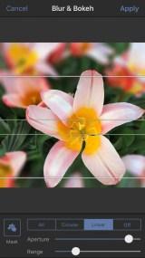Aplikasi latar belakang blur 135
