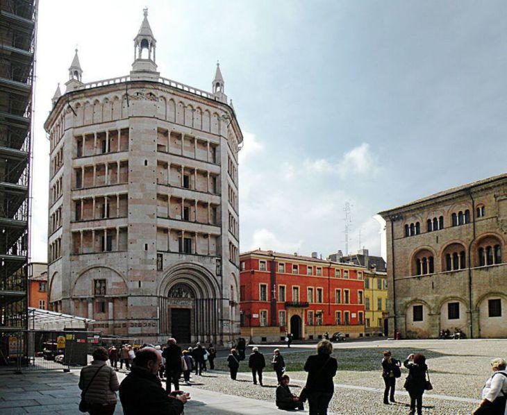 Visite el Baptisterio de Parma con sus extraordinarias pinturas y ...