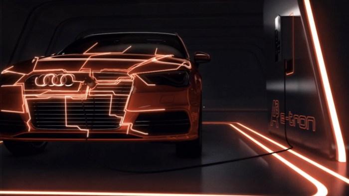 Technologie Audi e-tron