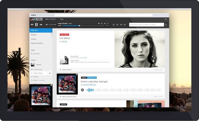 La musique Deezer pour Voyages-sncf.com