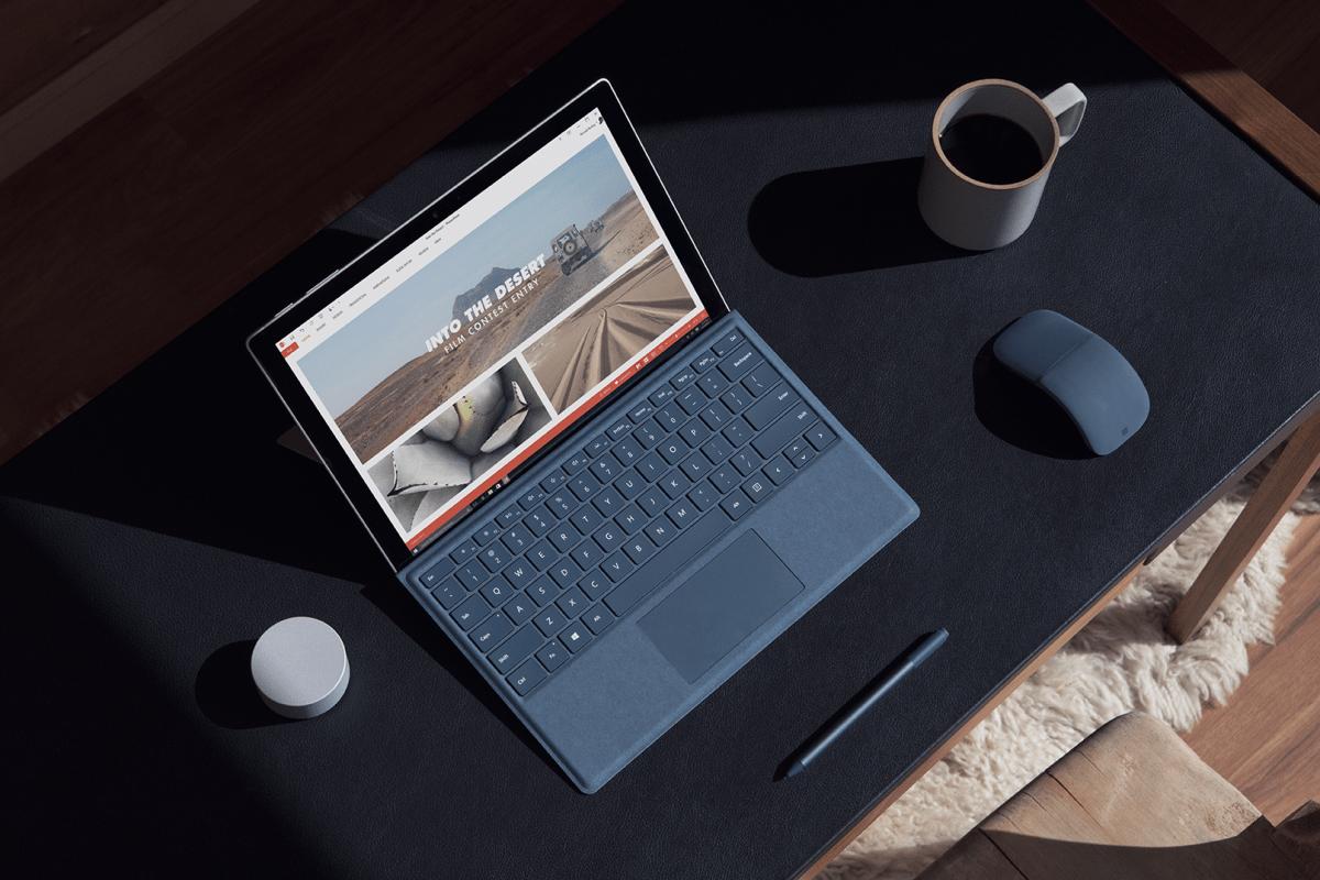 À la découverte de la Microsoft Surface Pro (2017)