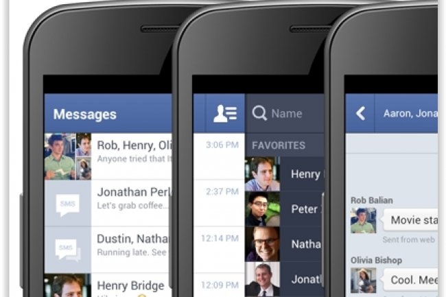 Facebook Messenger empiète sur le pré carré de solutions comme Yelp permettant de rentrer directement en contact avec des entreprises. (crédit : D.R.)