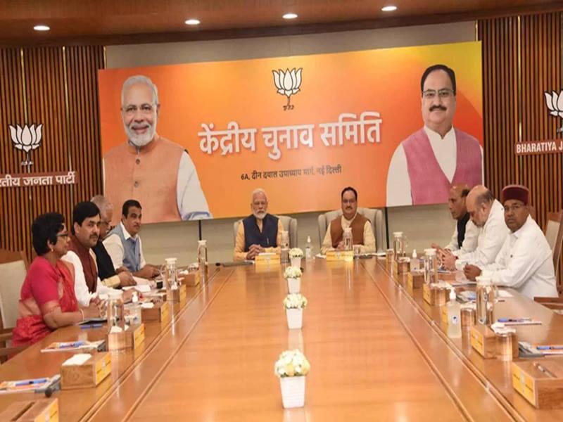 भाजपा ने की 10 राज्यसभा उम्मीदवारों की घोषणा दो सीटें सहयोगी दलों को दी