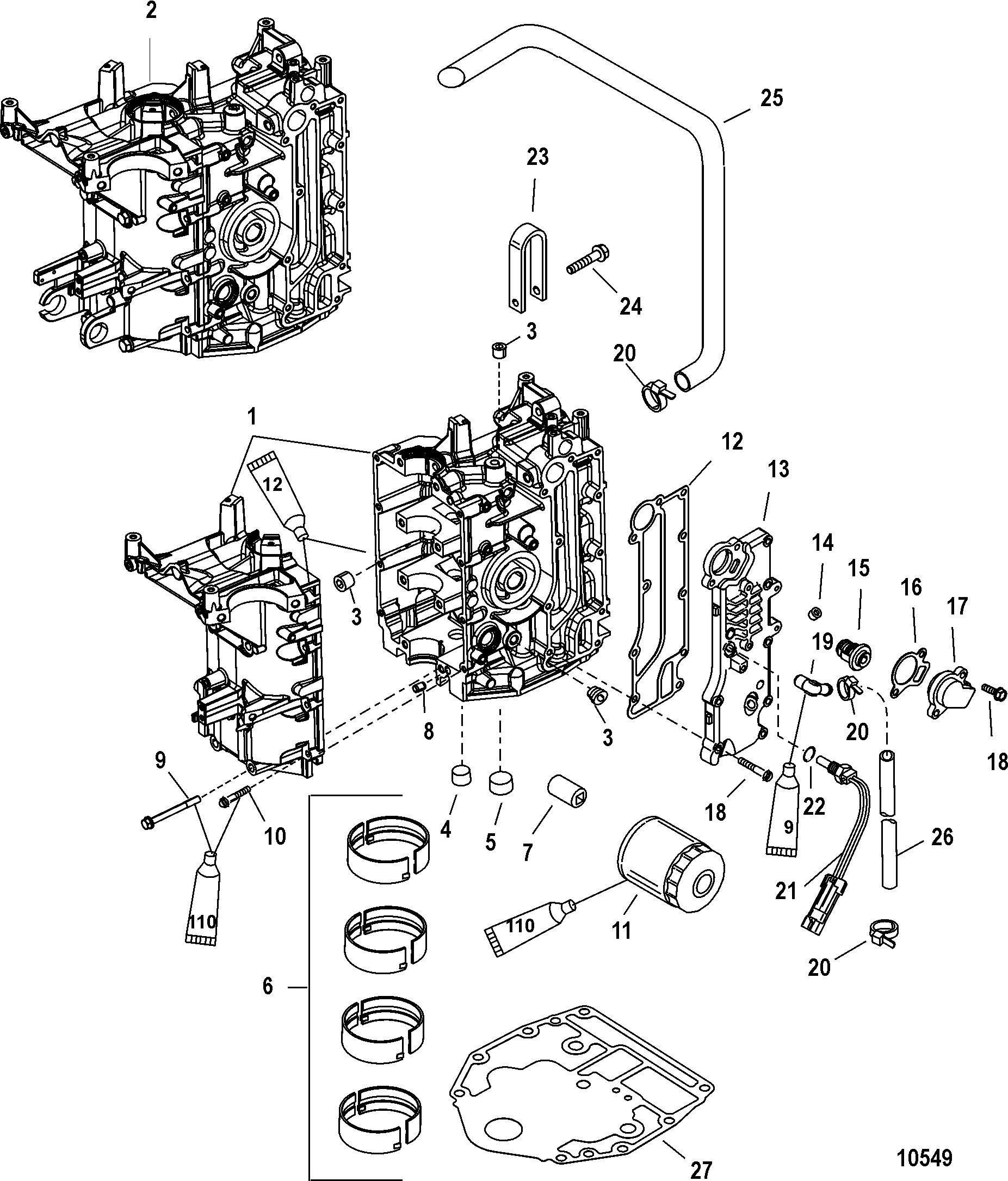 mercury 115 wiring diagram rheem tankless electric water heater outboard hp 6 cylinder diagrams