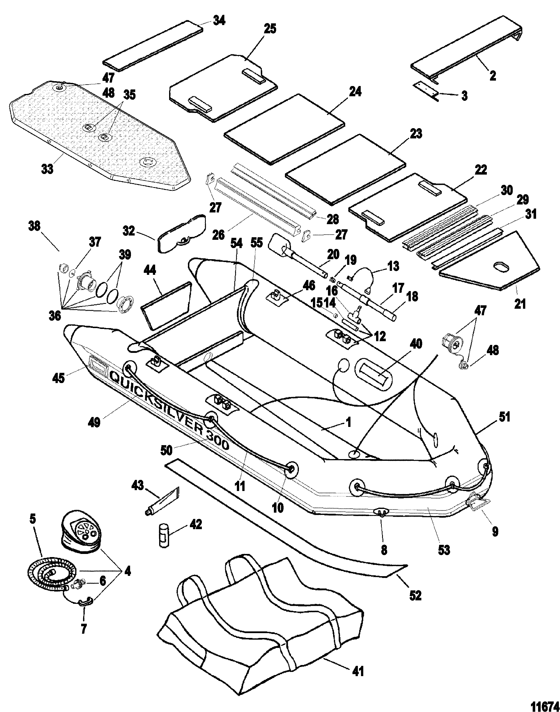 QS Inflatables 270 / 300 / 330 Page 1 FOR INFLATABLE BOAT