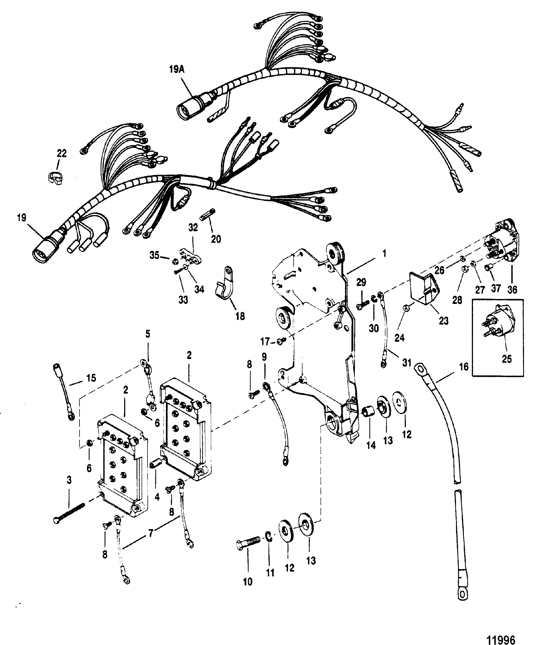 Mercury Outboard Gauge Wiring Diagram