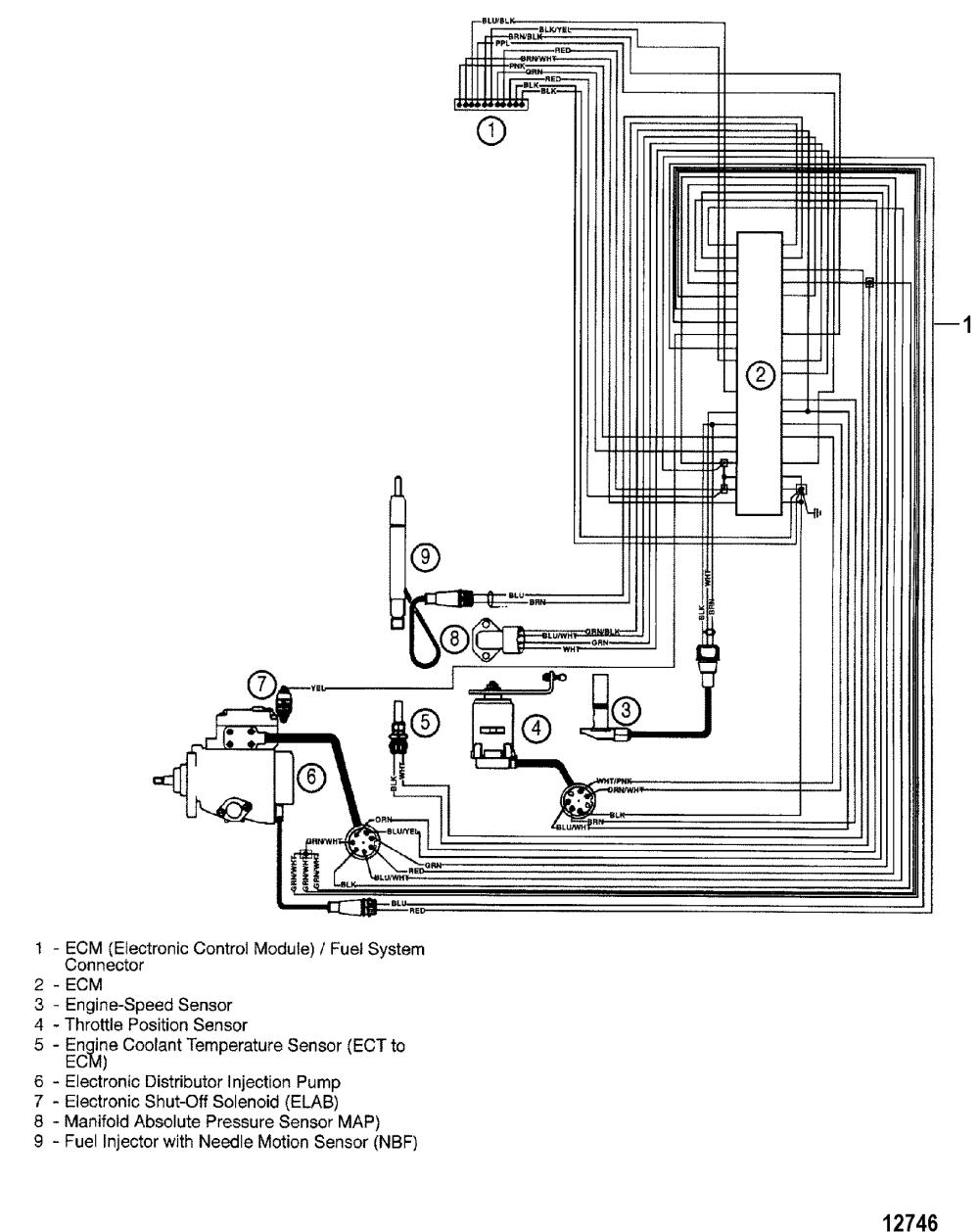 medium resolution of mercruiser 6 2l wiring diagram wiring library evinrude etec wiring diagram edi harness for mercruiser mie
