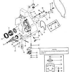 Mercruiser Alpha One Parts Diagram Pioneer Avh P3100dvd Gimbal Housing For Gen Ii Stern Drive