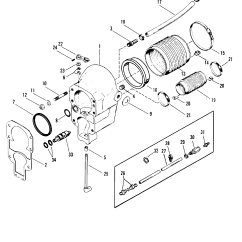 Alpha 1 Gen 2 Parts Diagram Twin Leisure Battery Wiring Bell Housing For Mercruiser One Ii Stern Drive