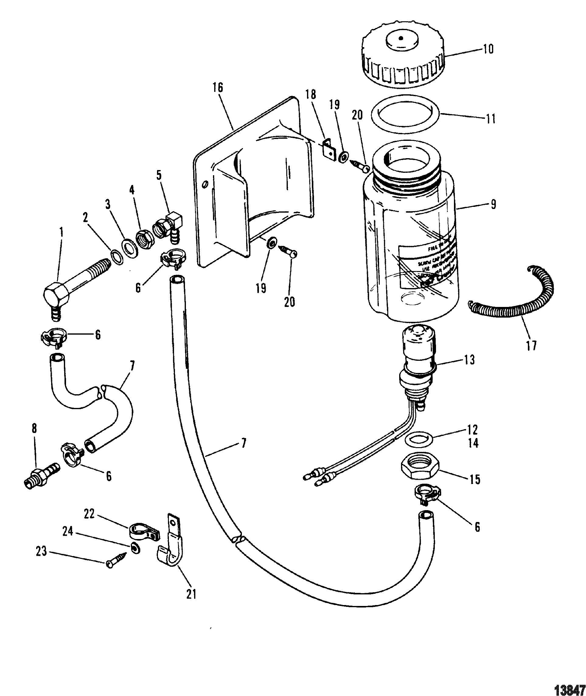 alpha one sterndrive parts diagram show er for library management system oil reservoir components round bottle mercruiser