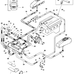 Marine Engine Cooling System Diagram Electrolux Rm212f Wiring Closed For Mercruiser 5 0l 7l Alpha Bravo