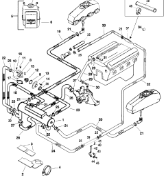 closed cooling system for mercruiser 5 0l 5 7l alpha bravo 1971 monte carlo engine diagram [ 1932 x 2345 Pixel ]