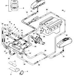closed cooling system for mercruiser 5 0l efi alpha bravo 350 small block chevy engine diagram [ 1917 x 2438 Pixel ]