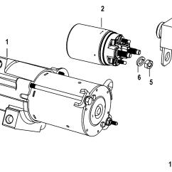 Mercruiser 5 0 Alternator Wiring Diagram Gibson Sg Epiphone Bayliner 3 Starter