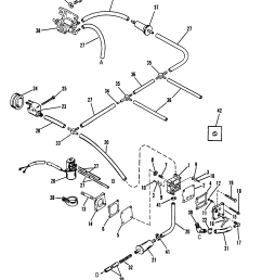 fuel pump use with 90 degree check valve reference 16 for mariner diagram of 1990 mercury marine sea ray 9100412wd electrical components [ 1970 x 2436 Pixel ]