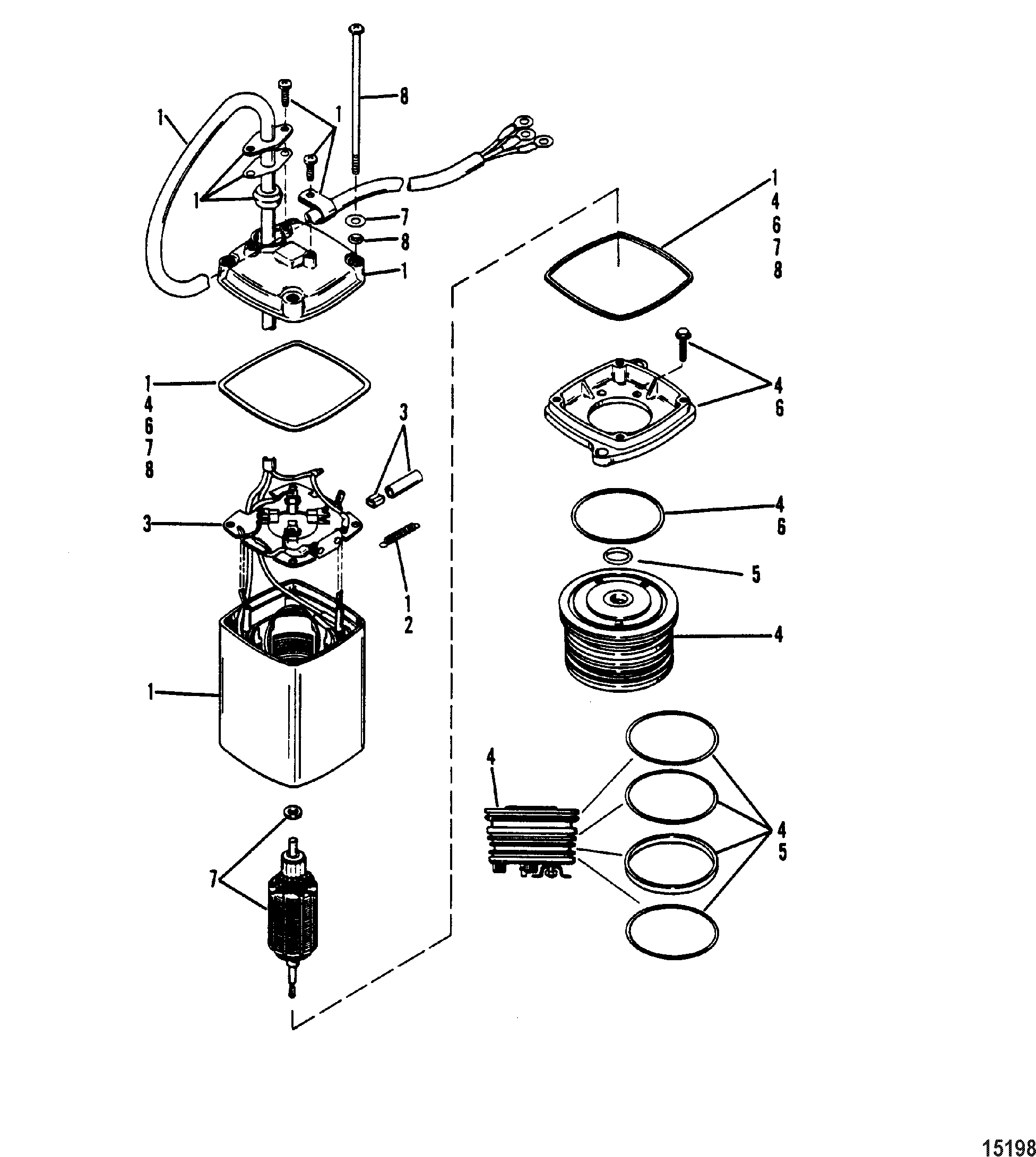 2 Stroke Mercury Outboard Motor Diagram